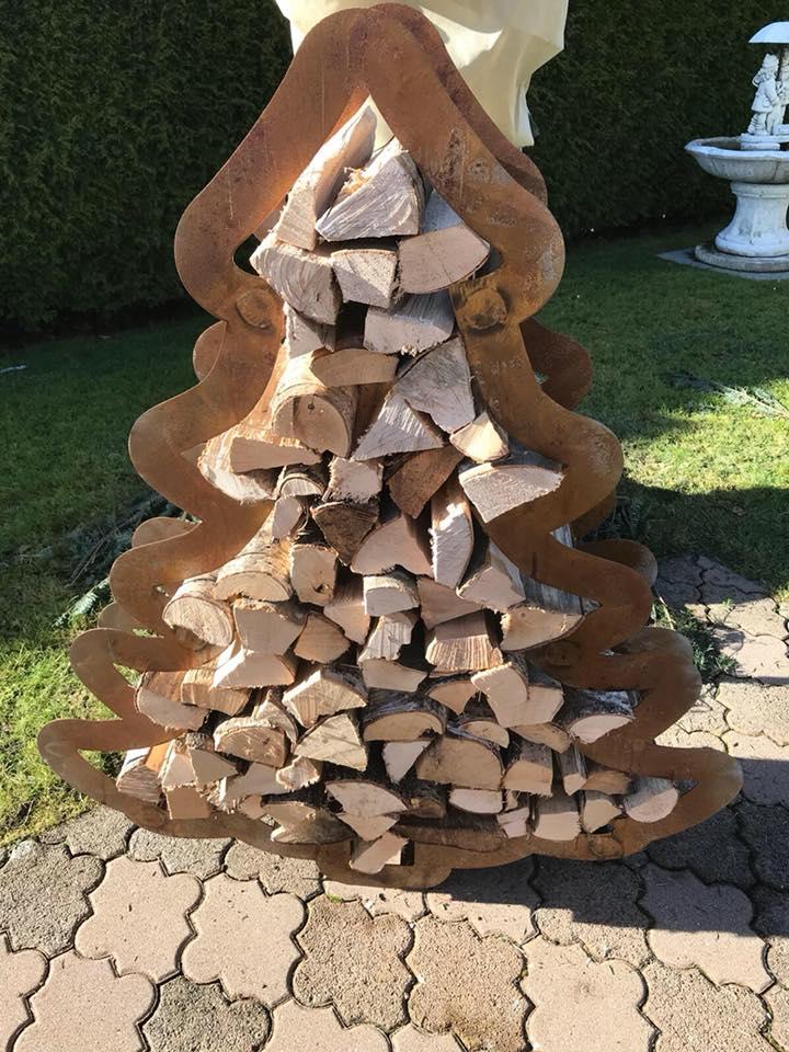 NEU – Holzgestell Tannenbaum