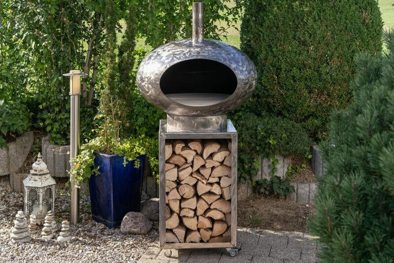 Pizza und Grillofen Cepa 80 altum das Multigerät aus Schweizer Produktion. Ist Ideal für in den Garten.