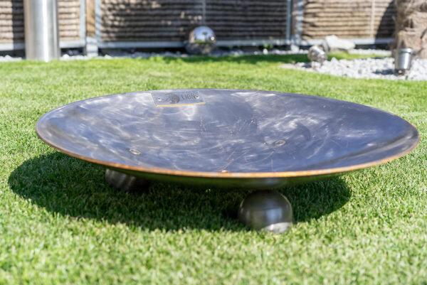 Feuerschale Eclipse 60 die edle Feuerstelle aus Schweizer Produktion. Ideal für in den Garten.