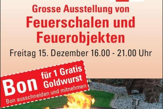 Die Goldwurst von Metzgerei Meier in Gommiswald, SG