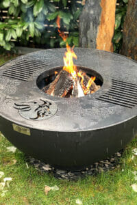 Grillring Lionfire - trotzt dem April Schnee