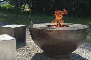 Lionfire Feuerschale und Grillring